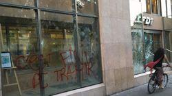 Le siège de la CFDT vandalisé après la manif du 23