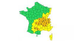 Canicule : Encore 16 départements en vigilance orange ce