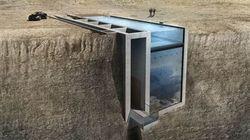 Cette maison à flanc de falaise ressemble au repaire d'un