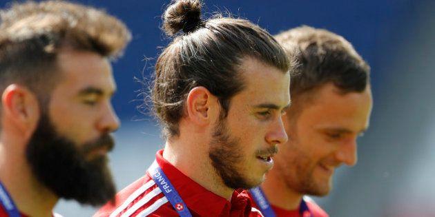 Football Soccer - Euro 2016 - Wales Training - Parc des Princes, Paris, France - 24/6/16 - Wales' Gareth...