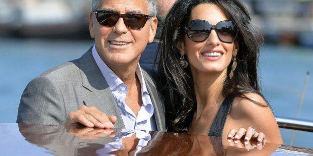 George et Amal Clooney n'en finissent plus de fêter leur