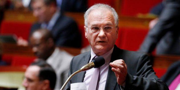 Gilles Carrez, député UMP et président de la commission des Finances de l'Assemblée, risque un redressement