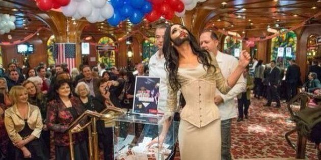 Eurovision: découvrez Conchita Wurst, la drag queen à barbe candidate du concours de