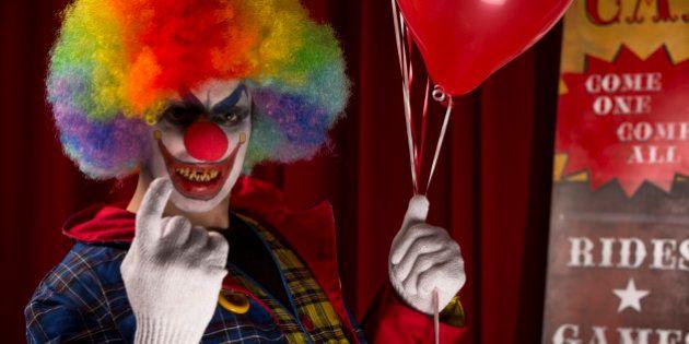 Un clown agressif interpellé dans l'Hérault après avoir succombé à la mode lancée dans le nord de la
