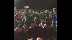 Les supporters irlandais ont remis ça avec la police