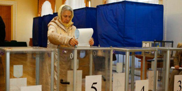 Élections législatives en Ukraine: 5 millions d'électeurs privés de