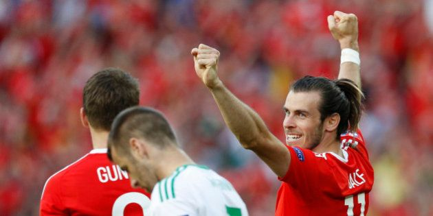 Football Soccer - Wales v Northern Ireland - EURO 2016 - Round of 16 - Parc des Princes, Paris, France...