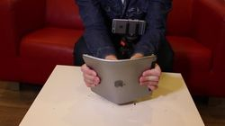 Le scandale du BendGate revient... avec l'iPad Air