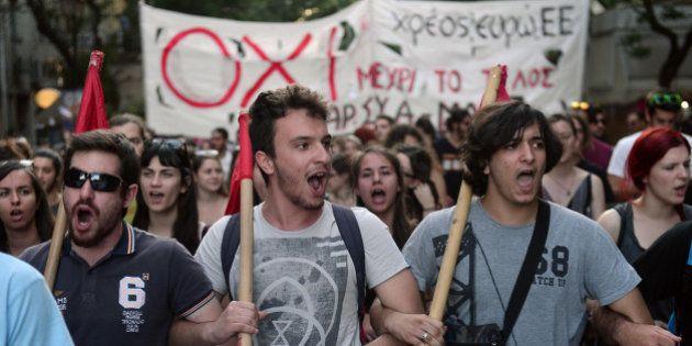 Référendum en Grèce: les 18-24 ans ont dit non à 80%, symbole d'une jeunesse européenne qui se