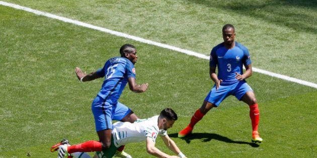 Football Soccer - France v Republic of Ireland - EURO 2016 - Round of 16 - Stade de Lyon - Lyon, France...