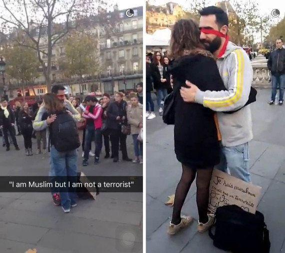 VIDÉO. Un musulman offre des