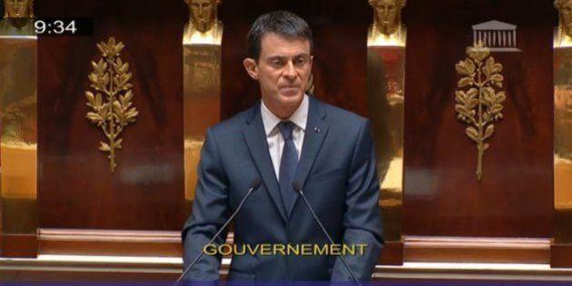 Manuel Valls pointe le risque des armes chimiques que Daech pourrait
