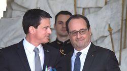 Hollande et Valls se félicitent de la victoire du