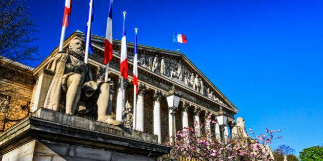 'Palais Bourbon' in Paris,