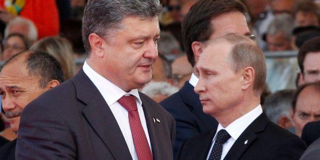 Ukraine / Russie : accord sur un cessez-le-feu dans l'Est selon Kiev mais Moscou