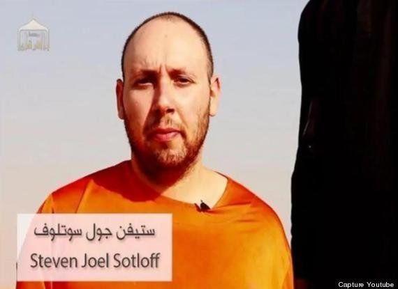 Steven Sotloff, journaliste américain, est bien l'homme décapité par l'Etat islamique dans une vidéo,...