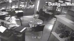 Des images de l'attaque d'une terrasse sont