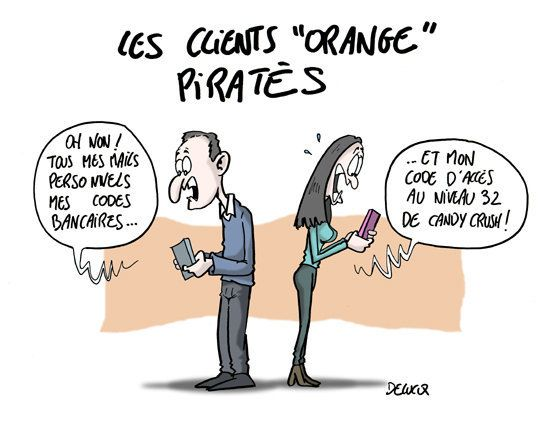 Piratage: Orange voit
