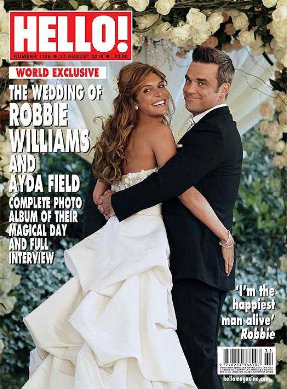 PHOTO. Robbie Williams tweete une photo de sa femme Ayda Field en talons aiguilles avant son