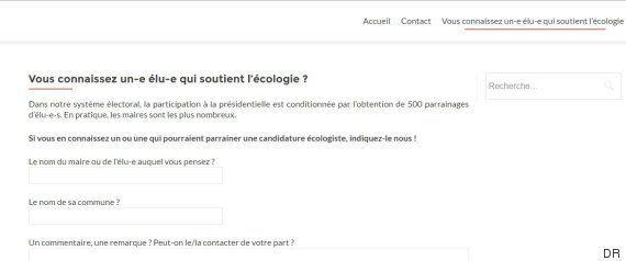 Cécile Duflot lance un site pour récolter des parrainages en vue de
