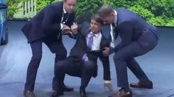 VIDÉO - Le patron de BMW fait un malaise en pleine