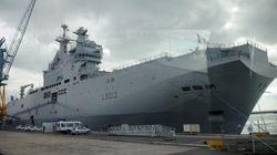 La France suspend jusqu'en novembre la livraison de son 1er Mistral à la