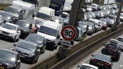 Les routes déjà bondées avant même le weekend