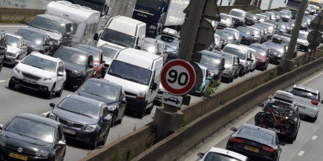 Info trafic : un pic de 556 kilomètres de bouchons avant un samedi