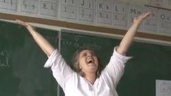Cette enseignante est