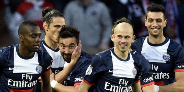 Le PSG champion de France 2013-2014 de la Ligue 1 de