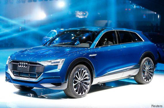 PHOTOS. Salon de Francfort 2015: Audi, Porsche, BMW... Les géants allemands se lancent dans l'électrique...