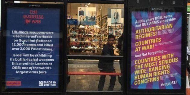 PHOTOS. Bansky et les artistes de Dismaland font de la pub (illégale) contre la foire aux armes à