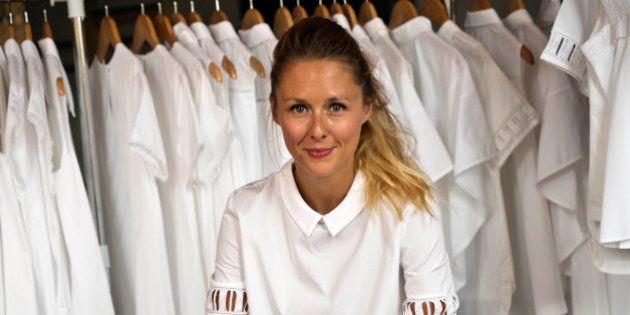 Maud Heline, la Française qui fait des chemises blanches made in New York, impressionne à la Fashion