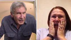 Harrison Ford fait une surprise à des fans de Star