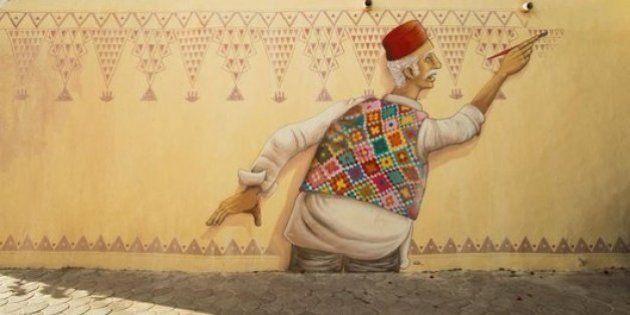 PHOTOS. Djerbahood : Quand le street-art réveille une bourgade tunisienne