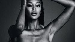 Cette photo de Naomi Campbell seins nus ne restera pas longtemps sur