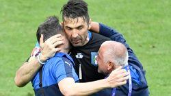 Malgré la victoire de l'Italie, Gianluigi Buffon pleure son