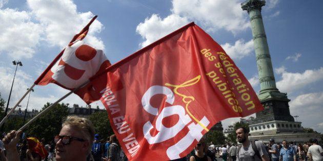 La manifestation du 28 juin, 11e mobilisation contre la loi Travail sous haute