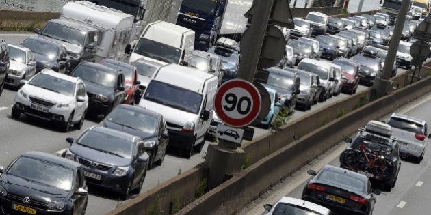 Info trafic: jusqu'à 1000 km de bouchons sur la route des vacances, un