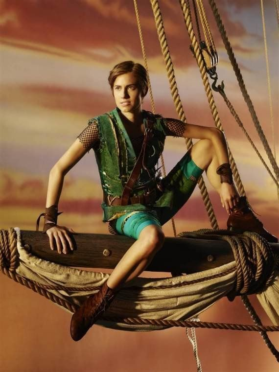 PHOTOS. Allison Williams en Peter Pan : une première image