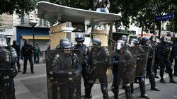 De rares débordements dans les manifestations anti-loi