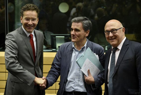 PHOTOS. Euclide Tsakalotos, le nouveau ministre grec des Finances, a-t-il révélé ses notes par