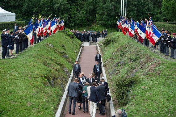 PHOTOS. Centenaire 14-18 : François Hollande et Joachim Gauck célébrent l'amitié
