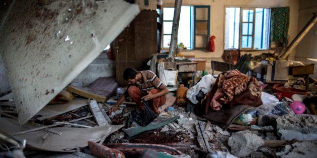 Gaza: nouveau bain de sang dans une école de l'ONU, malgré un début de retrait
