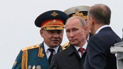 Poutine en Crimée pour célébrer la victoire contre les Nazis, l'Ukraine