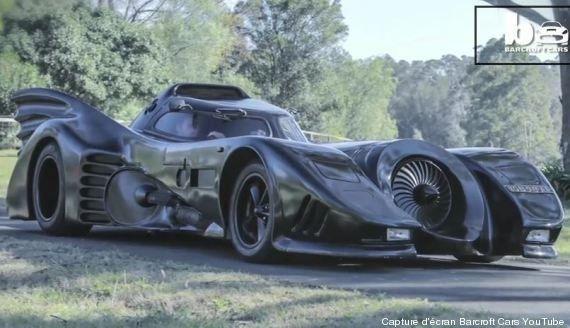 VIDÉO. Il construit la Batmobile de 1989 et réalise le rêve d'enfants