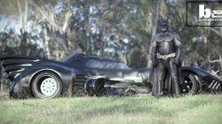 Il construit la Batmobile de 1989 et réalise le rêve d'enfants