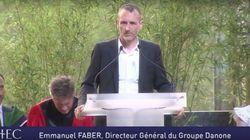 Le discours émouvant du DG de Danone sur son frère