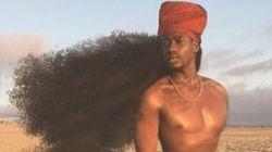 Les chevelures afro de ce père et de sa fille sont