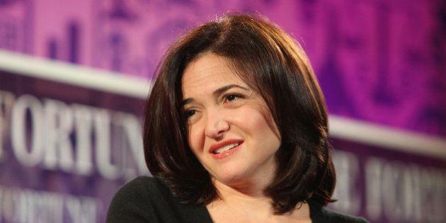 La numéro 2 de Facebook, Sheryl Sandberg, promet de donner la moitié de sa
